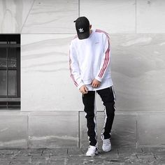 Tomboy Outfits, Cool Outfits, Fashion Outfits, Boy Fashion, Mens Fashion, Men Looks, Hypebeast Outfit, Black Men Street Fashion, Dance Outfits