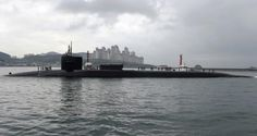 Naval Today | The industry's seaborne news provider.  USS Michigan in South Korea.