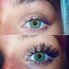 Lashes before and after with Younique's 3D Fiber Mascara. www.youniqueproducts.com/LindaLawless