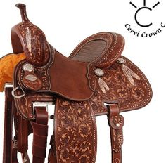 Martin Saddlery Crown C - Stingray's new saddle