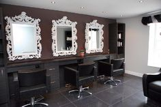 Newcastle (UK) » REAL SALONS - SALONS :: PIETRANERA SRL- Salon Equipment, Hairdressing Furniture Made in Italy