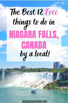 Niagara Falls Things To Do, Visiting Niagara Falls, Canada Travel, Travel Usa, Travel Tips, Falling Water Architecture, Usa Places To Visit, Fall Vacations, Autumn Photography