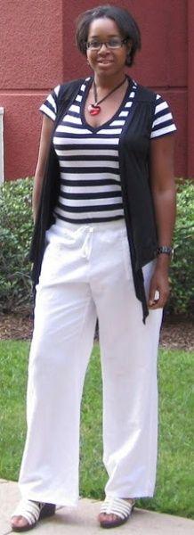 White Linen Pants for Summer