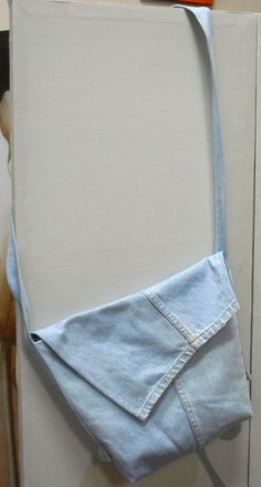 Satchel    Created by Erica using denim jeans.