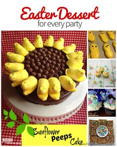 If you are hosting a dinner this weekend, I have a great round up of not only delicious Easter desserts but also cute ones for any type of party.