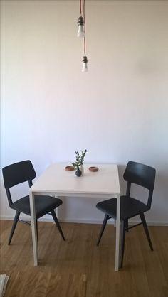 Love my new dinning corner! #scandinavian#living#love