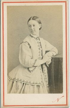 CdV Photo Young Woman By NADAR c1860s