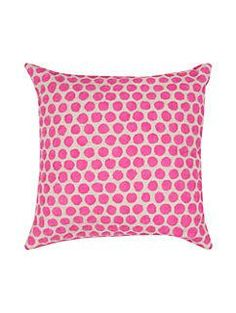 embroidered dot pillow by kate spade new york