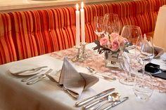 Persönlich reserviert – täglich Ihr elegant gedeckter Tisch in unserem Restaurant Restaurant, Table Settings, Elegant, Travel, Food, Gourmet, Environment, Ice Cream Flavors, Homemade Breads