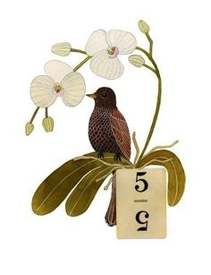 Bird No.8. $30.00, via Etsy.