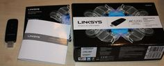 Linksys WUSB6300-EJ WUSB6300 AC Wi-Fi Dual-Band SuperSpeed USB 3.0 - 802.11b...