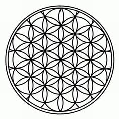 As the most prestigious symbol of esoteric sacred geometry, the Flower Of Life is a visual expression of the interconnecting energetic field that life weaves through all sentient beings, believed to contain a type of Akashic Record of basic information of all living things. From this symbol alone derives Metatron's Cube, The Kabbalistic Tree Of Life, and Leonardo da Vinci's Vitruvian Man as well as countless other sacred geometrical works.