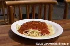 Špagety pre diabetika