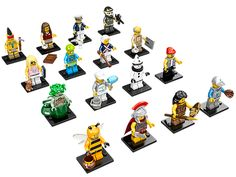 Collect every mystery minifigure in the exciting new Series 10!
