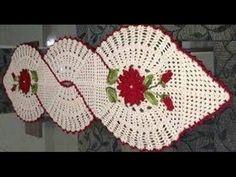 Vídeo aula Folha básica em crochê para aplicar em diversos trabalhos / Cristina Coelho Alves - YouTube