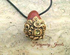 Diaspro pendant https://www.facebook.com/pages/Fairymary-Jewels/208528805873162?sk=info&tab=page_info http://www.etsy.com/it/shop/FairymaryJewels?ref=si_shop