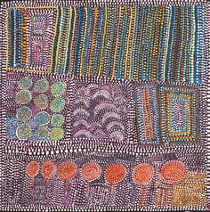 Beautiful art from Loongkoonan, 105 year old Aboriginal artist who started painting at 90 'to keep busy' :)