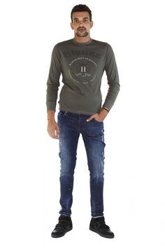 BLAUER- www.assuntasimeone.com  T-SHIRT IN COTONE BLAUER  100% Cotone  spedizione gratuita assicurazione gratuita reso gratuito  CLICCA SUL LINK PER ACQUISTARE IL PRODOTTO: http://www.assuntasimeone.com/it/shop/nuove-collezioni-inverno-t-shirt/2821/t-shirt-in-cotone-blauer.html