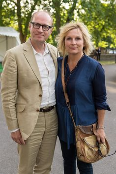 Pin for Later: The British Celeb Couples Who Make Us Believe in Love Ade Edmondson and Jennifer Saunders The comedy duo have been married for 30 years.
