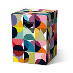 """Papphocker """"Solena"""" - stool made of cardboard can support up to 200 kg"""