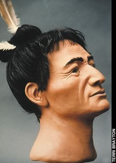 Facial reconstruction of Native American Mississippian people - Page 2