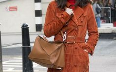 """The Loewe """"Puzzle"""" Bag - 7 Bags All The It Girls Are Carrying Now  - HarpersBAZAAR.com"""