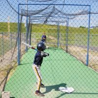 How To Build A Batting Cage In Your Backyard! #baseball