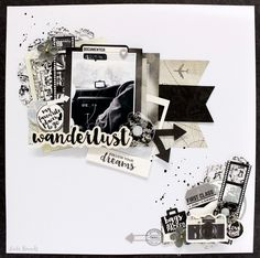 Explore your travel memories with the Just Landed Collection Die Cut Cardstock Pieces by Kaisercraft.