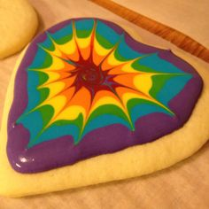 Awesome tye-dye sugar cookies for valentines day that I made