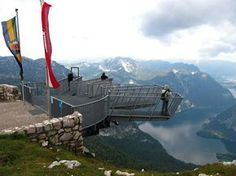 Dachstein Krippenstein Five Fingers, Austria. Been there. Done that. Freaked Out.
