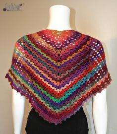 Ravelry: Calliope Any Day Any Way Shawl pattern by Lorene Haythorn Eppolite- Cre8tion Crochet