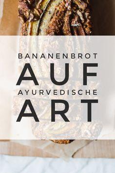 Recipe: Ayurvedic banana bread with cardamom, cinnamon and sesame - Healthy Food Art Vegan Vegetarian, Vegetarian Recipes, Easy Banana Bread, Good Healthy Recipes, Healthy Food, Food Inspiration, Food Videos, Sweet Treats, Clean Eating