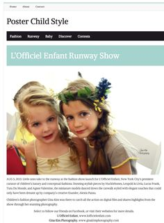 Poster Child Style Covering the LOE Launch Runway Show