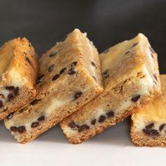 Gluten Free Cheesecake Blondies | Gluten Free on a Shoestring