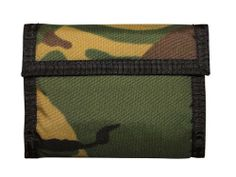 Commando Army Wallet - Military Style - Black Camo ACU or Woodland Digital Camo, Outdoor Blanket, Wallets, Strong, Black, Design, Style, Camouflage, Swag