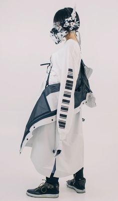 Hiroto Ikeuchi Cyberpunk Mode, Cyberpunk Fashion, Inspiration Mode, Character Design Inspiration, Mode Outfits, Fashion Outfits, Weird Fashion, Steampunk Fashion, Gothic Fashion