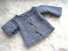 Layette tricot + Tuto