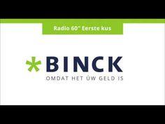 Binck - radiospot 'Eerste kus' Client: BinckBank Agency: darwin