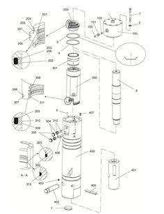 hydraulic breaker hammer cp parts list