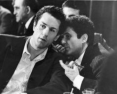 Still of Robert De Niro and Joe Pesci in Raging Bull (1980)