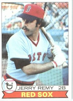 1979 Topps - Jerry Remy Boston Red Sox Baseball Card by Topps $1.75