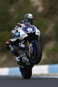Ben Spies #11 - Jerez 2012 test. Unfortunately he had to retire from racing after 2 broken collarbones.