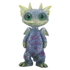 Blue and Green Baby Dragon