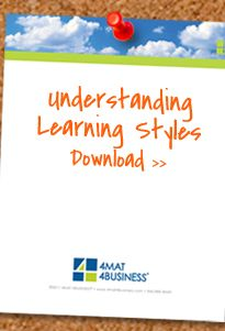 Understanding Learning Styles 4MAT Learning Styles