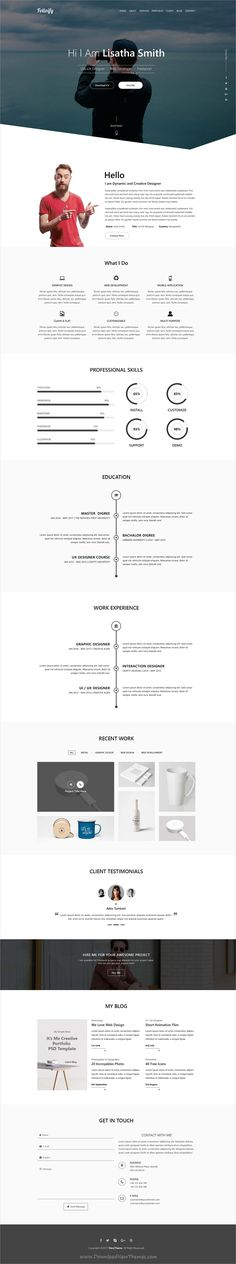 BAB - Creative Minimal Portfolio \ Agency PSD Template - product review template
