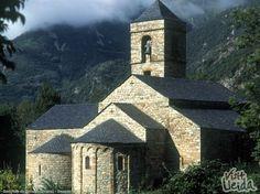 Sant Feliu de Barruera, UNESCO World Heritage Site. (Lleida Pyrenees-Spain)