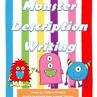 Monster fun! Three-day lesson plan for writing a monster description! Students create their own versions of a monster using the provided shape temp...