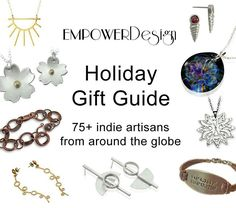 Do you wish you could still stop your Artisan markets during the week? Well you can! Go check out the Empower design holiday gift guide to shop Artisans from around the world.