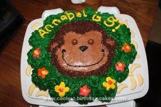 Homemade Monkey Jungle Cake