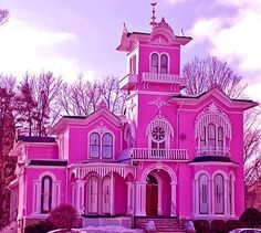 A Choice For My Future House Pink Palace Fantasy Love Hot